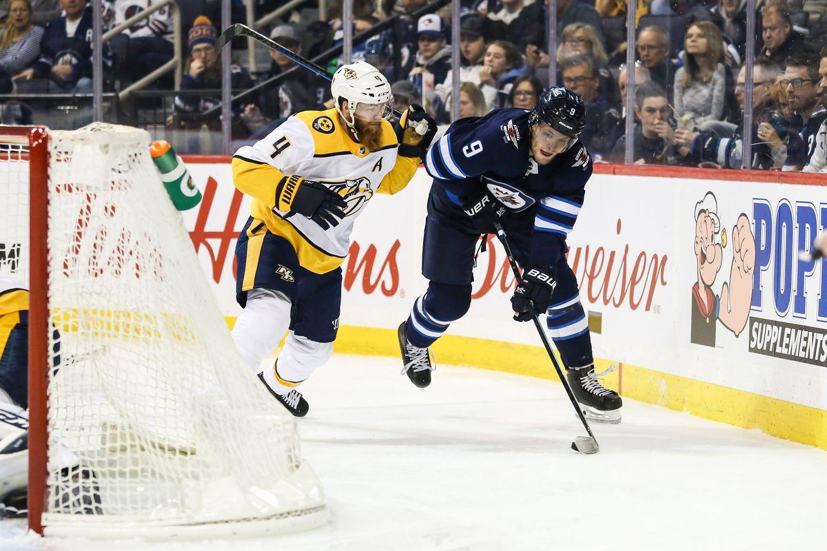 new arrival b611e f9712 Preview: Winnipeg Jets vs Nashville Predators - Arctic Ice ...