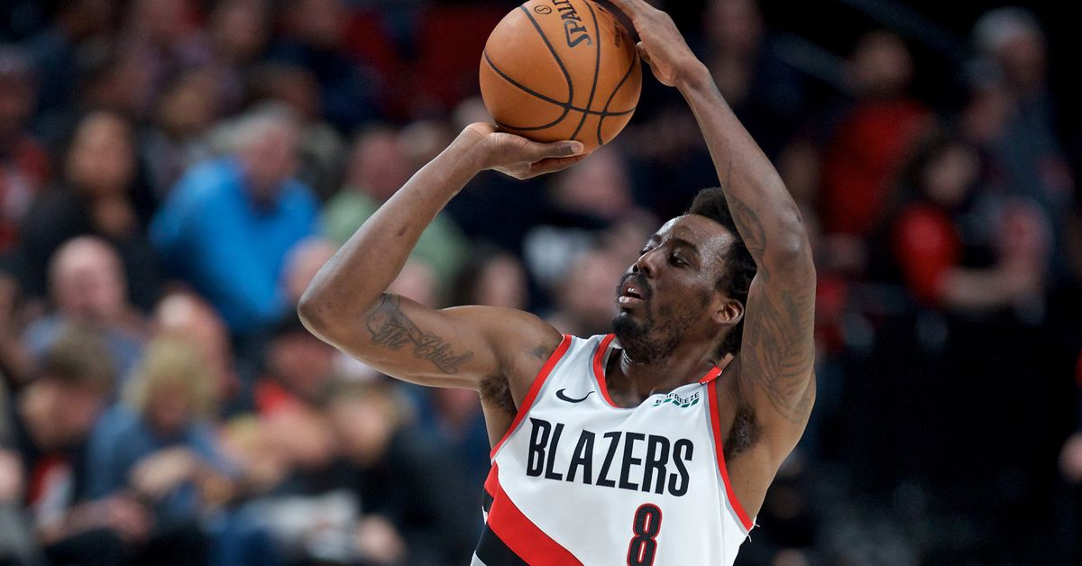hot sale online 9db7f fcd3f Struggles Aside, Aminu Still Crucial to Blazers  Future