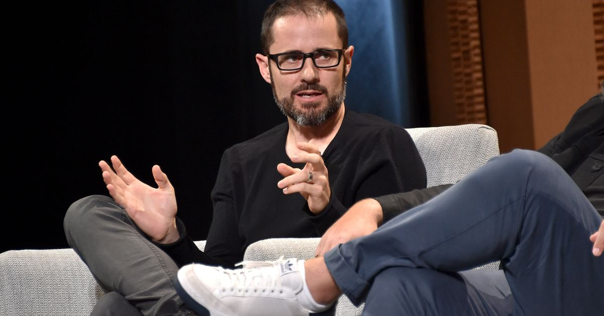 photo image Twitter co-founder Ev Williams says in retrospect that showing how many followers you have wasn't 'healthy'