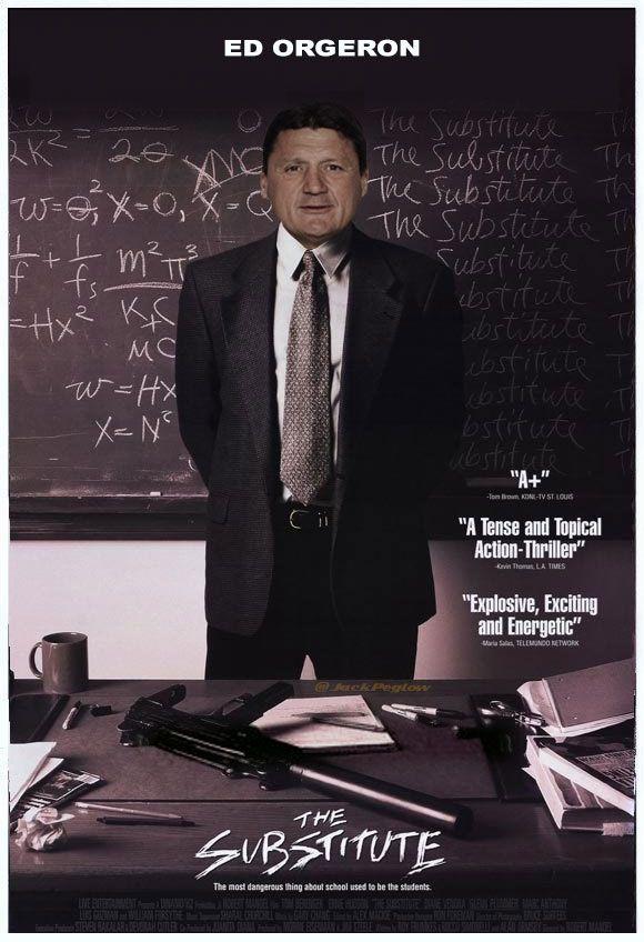 Ed Orgeron: The Substitute