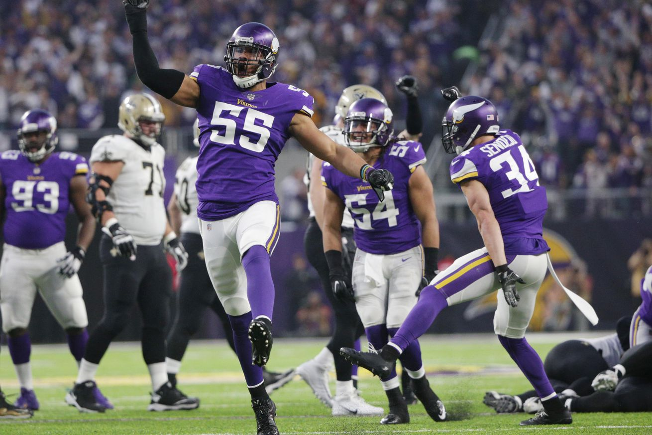 Anthony Barr talks about New Season, Quarterback and Aaron Rodgers hit