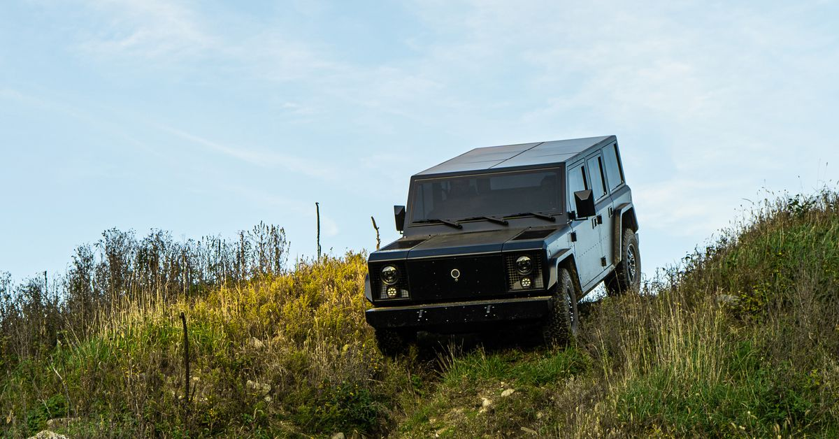 Bollinger's rugged electric trucks will cost $125,000