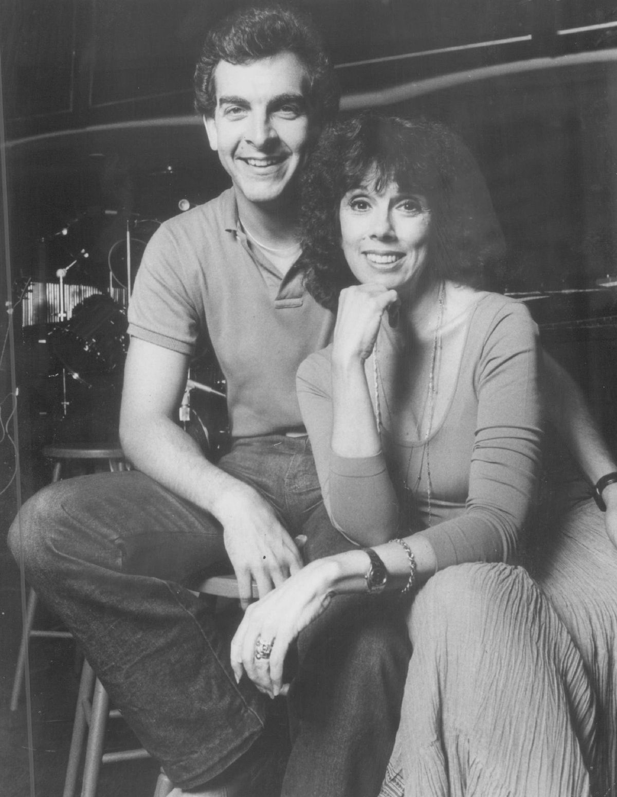 """Phyllis Newman and Mark Hutter starred in """"I'm Getting My Act Together and Taking it on the Road"""" at the Drury Lane Water Tower Theatre in 1966."""