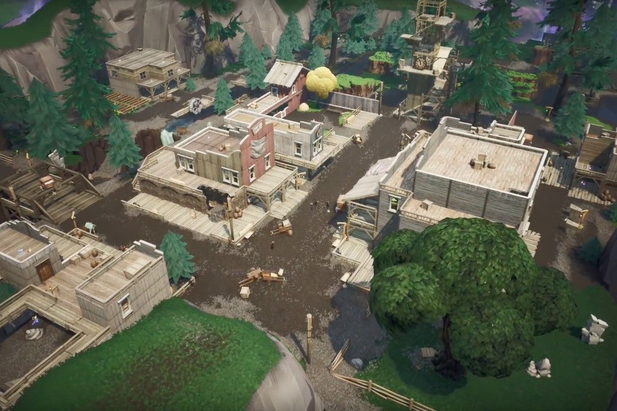 Fortnite: How to build inside Tilted Town - Polygon