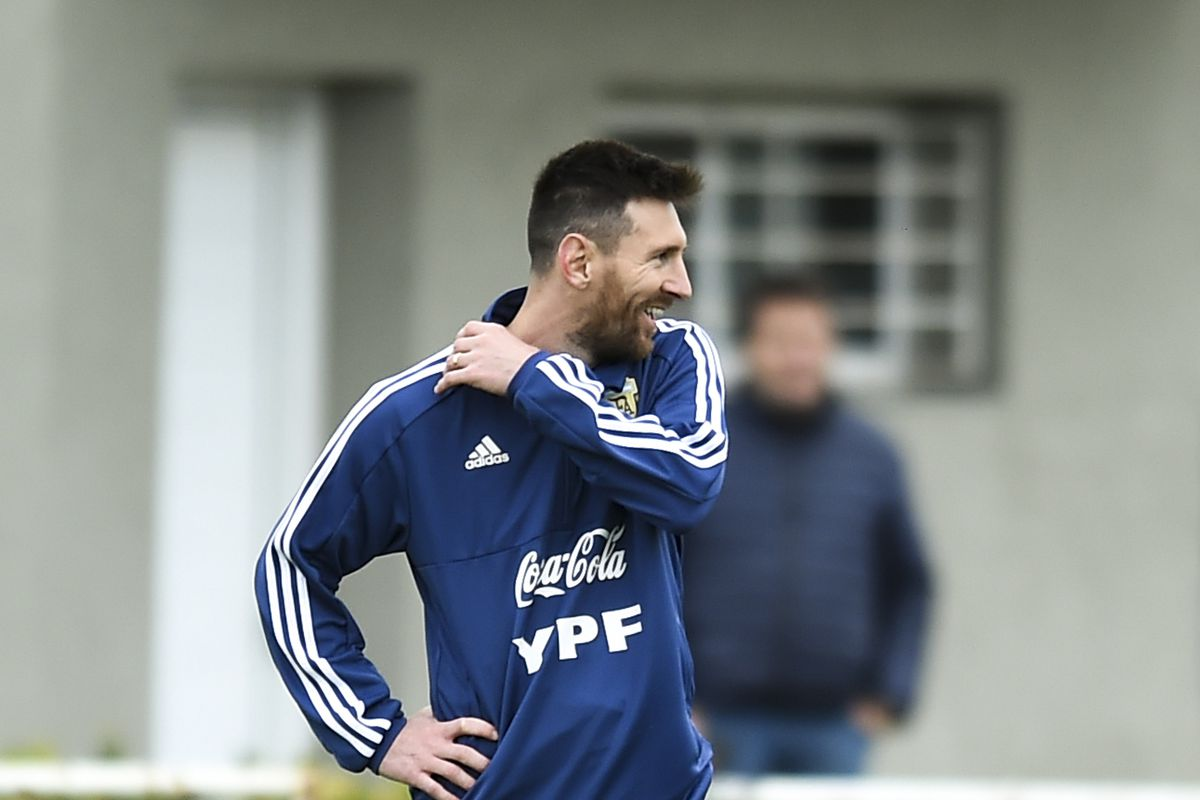 Argentina Training Session & Press Conference