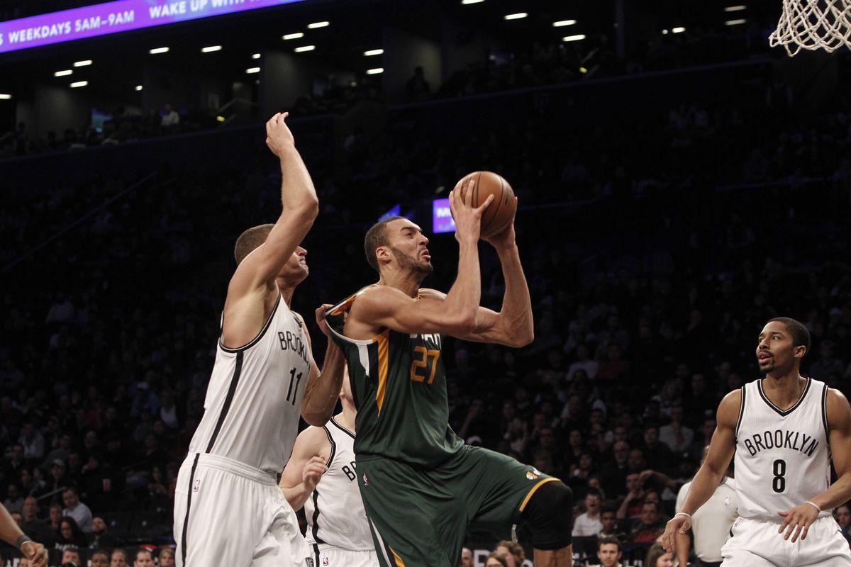NBA: Utah Jazz at Brooklyn Nets