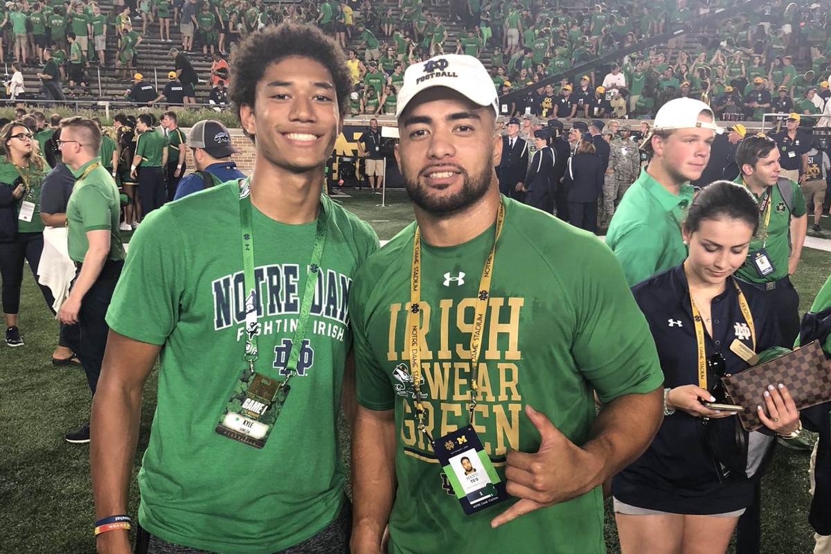 This Guy Plays Notre Dame Football: #14 Kyle Hamilton, Safety
