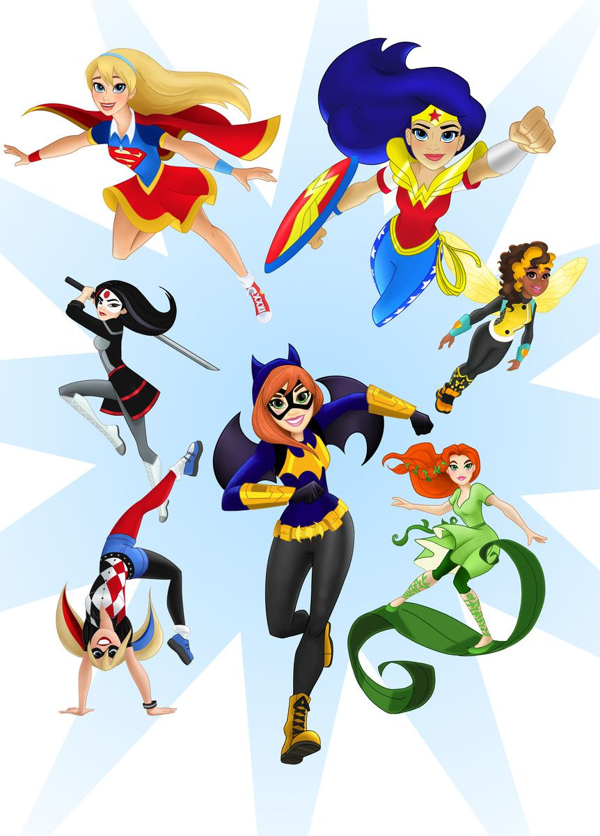 dc is repackaging its female superheroes for young girls the verge
