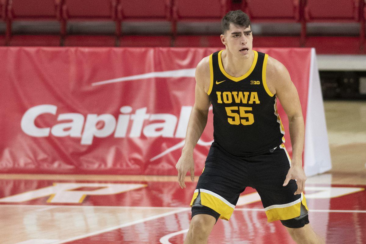 NCAA Basketball: Iowa at Maryland