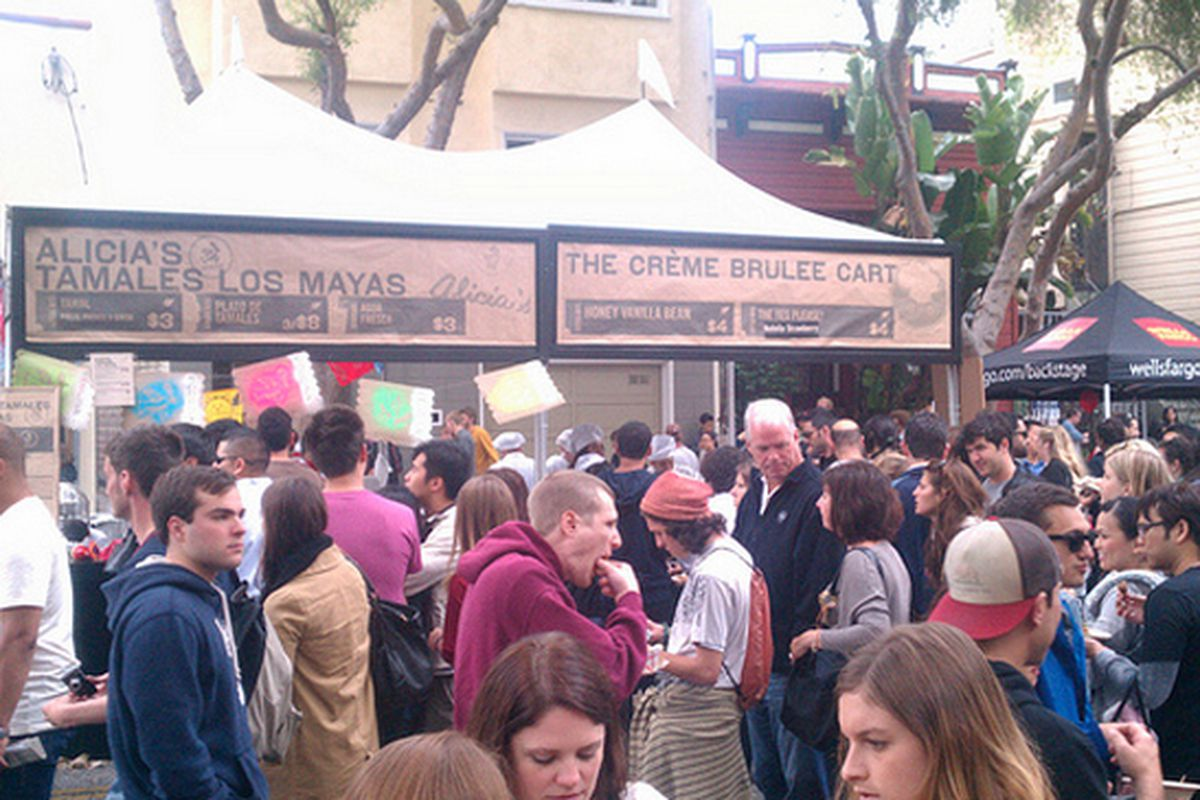 Last year's Street Food Festival saw about 80,000 people.