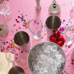 """""""My Saturdays are usually filled with work work and more work but in the off chance that I am not teaching a bachelorette party how to mix up a few cocktails or shaking up a few cocktails myself, this would be the most ideal Saturday!""""[Photo: Revae Schnei"""