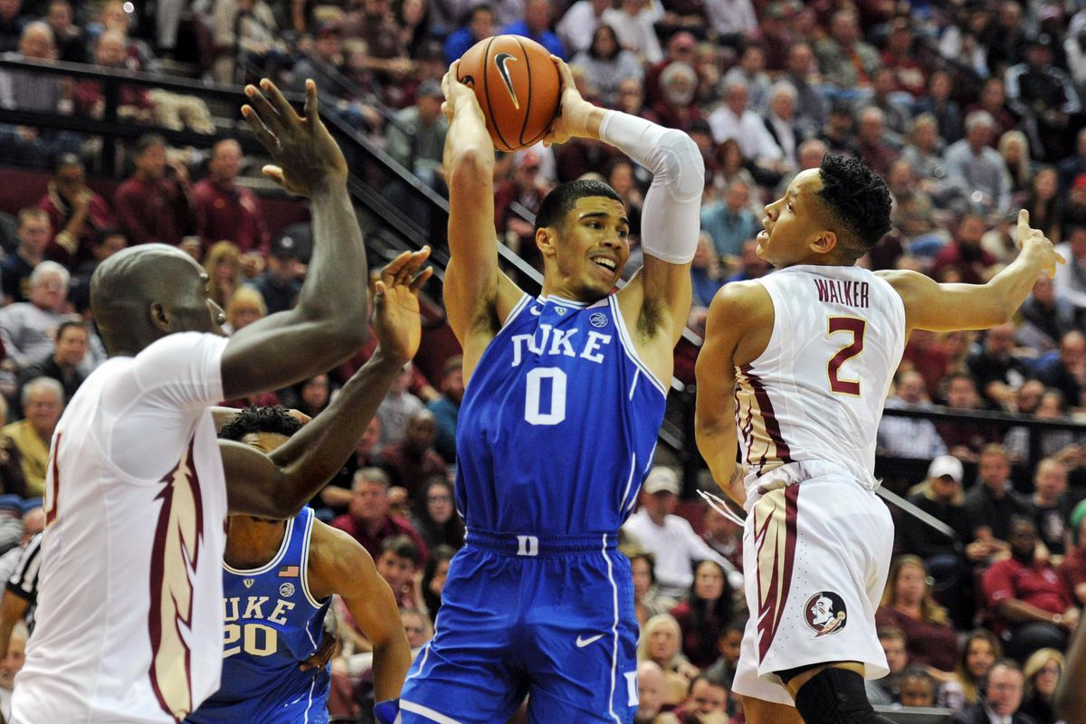 ad236a105cf Duke Chopped Down By FSU In Tallahassee - Duke Basketball Report