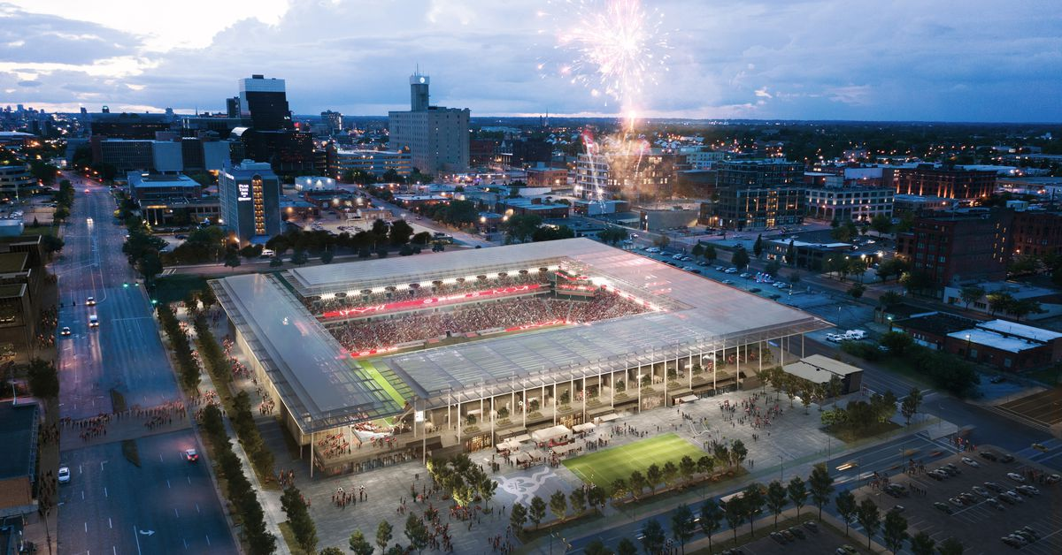 How a new generation of U.S. soccer stadiums fit into the urban fabric