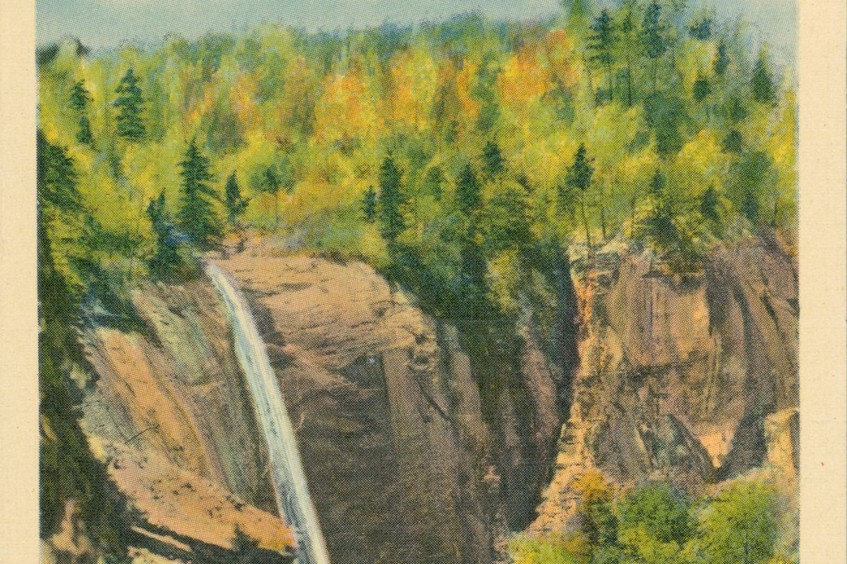 Hickory Nut Falls, In The