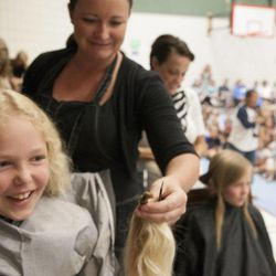 Cuts for a cause: Students donate hair for nonprofit ...