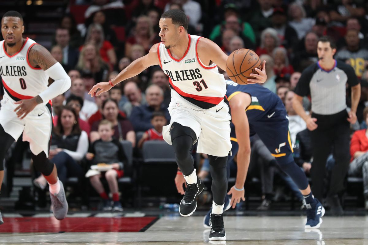 3674c3139 Have the Trail Blazers Improved the Backup Point Guard Spot  Curry vs Napier