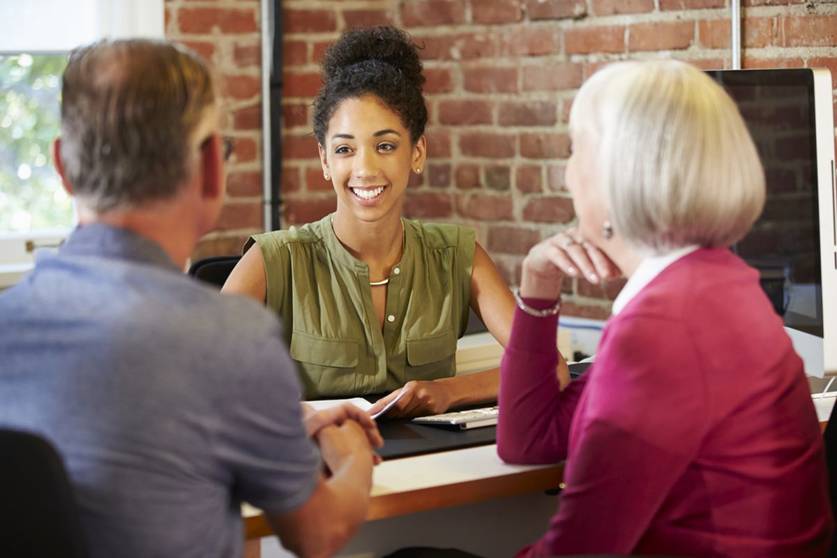 This woman looks friendly, but if she's not following a fiduciary standard then she may be hurting her clients.