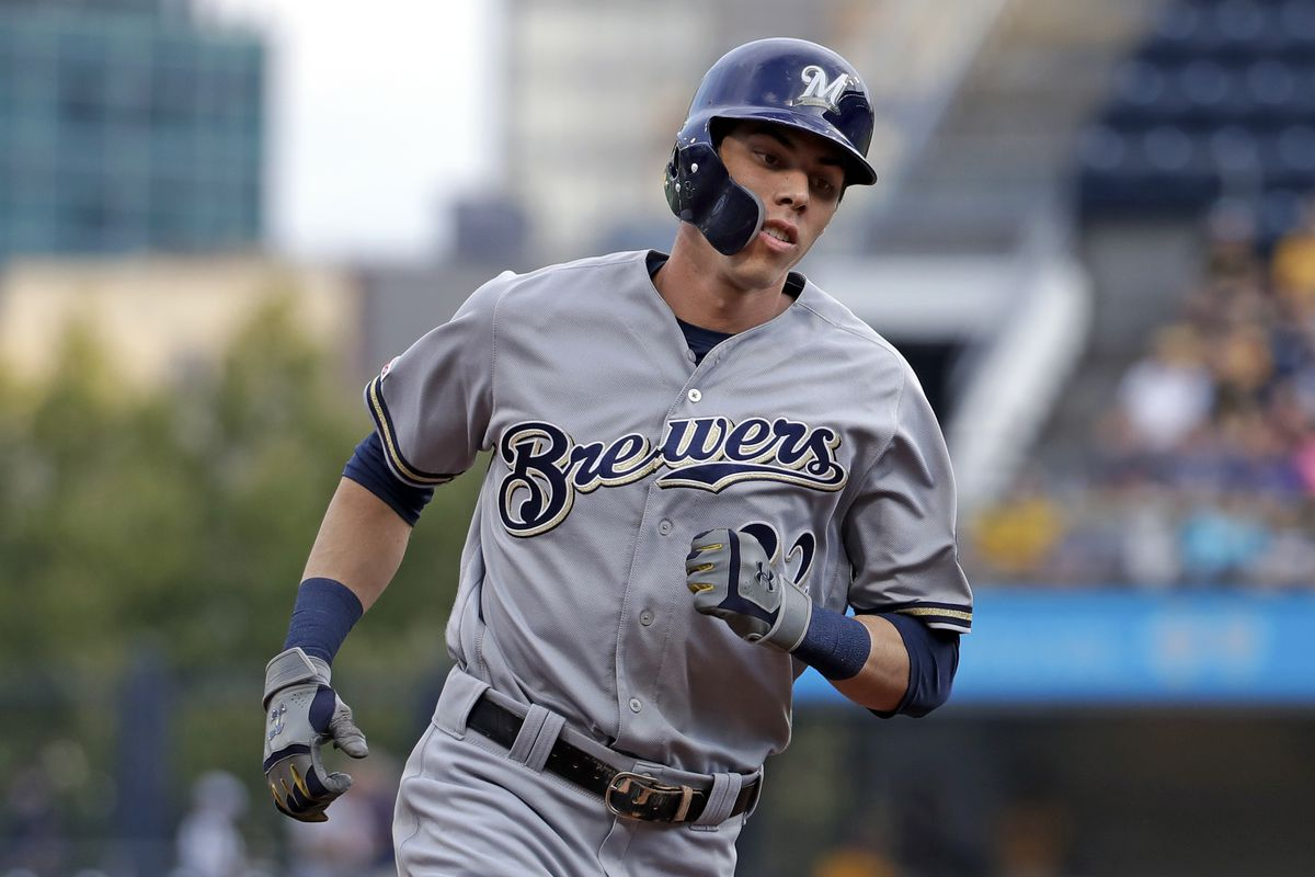 The Brewers signed Christian Yelich to a nine-year contract running through the 2028 season with a mutual option for 2029.