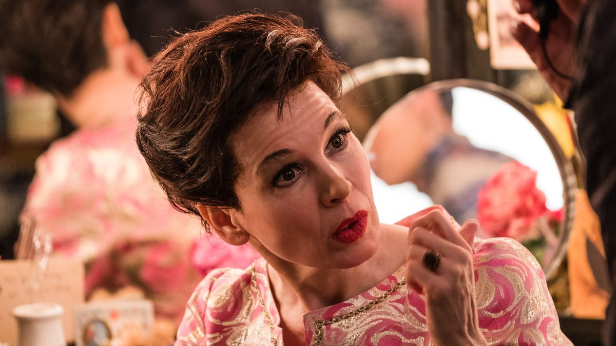 Renee Zellweger as Judy Garland in Judy.