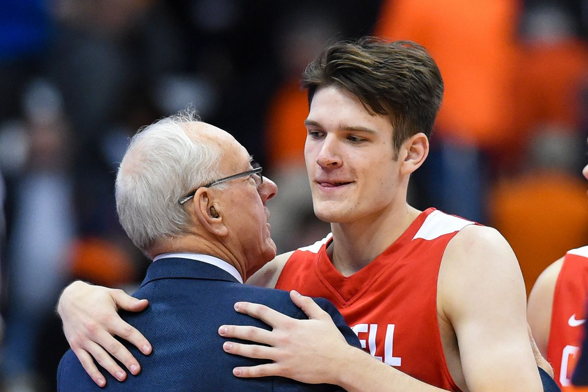 Heim Time Jim Boeheim Won T Be Going Home Saturday If Sons Jimmy And Buddy Don T Play In Syracuse Vs Cornell Game Troy Nunes Is An Absolute Magician