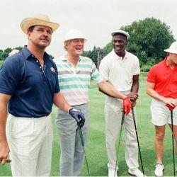 Ditka, Harrelson, Jordan and McMahon