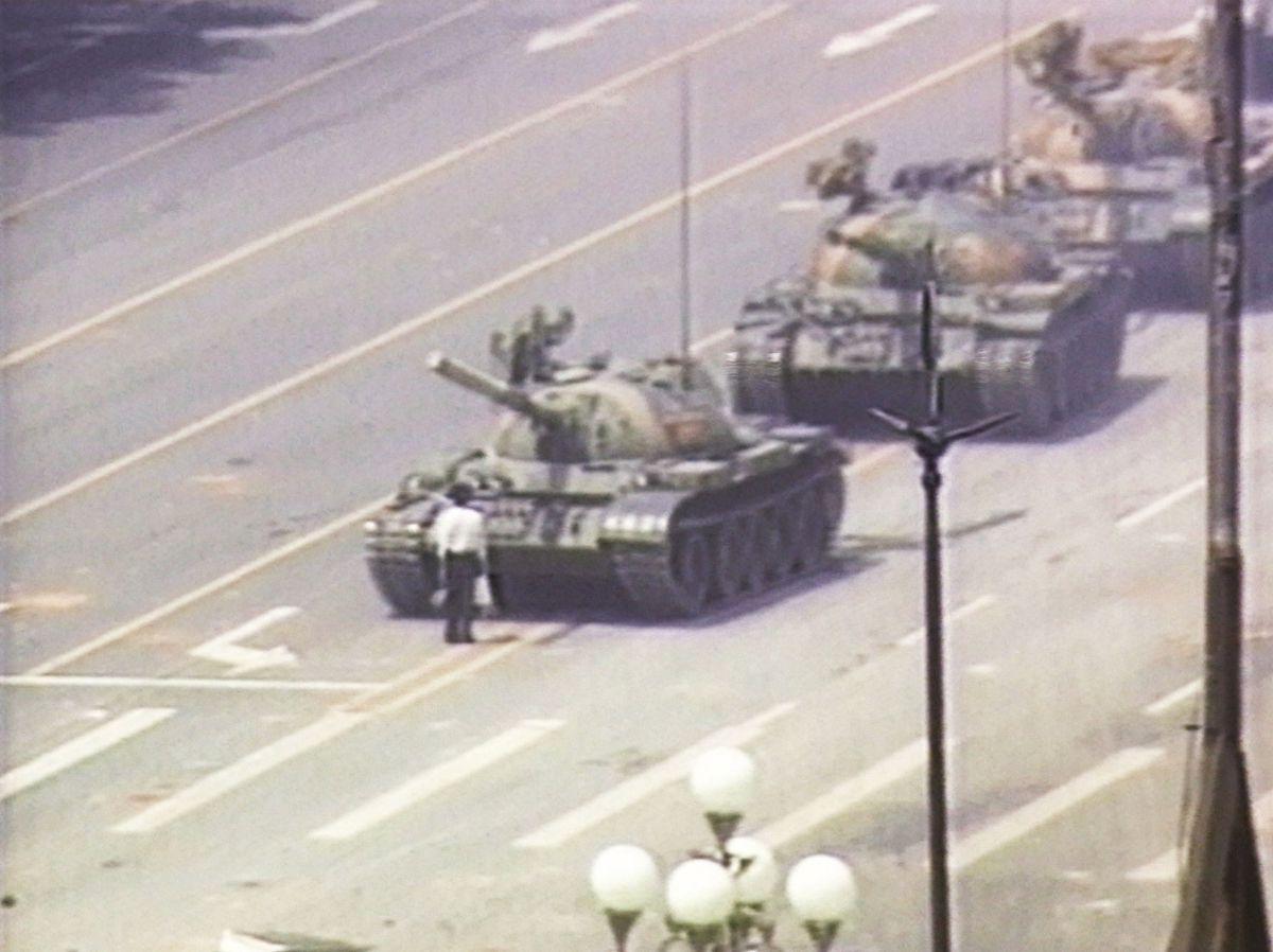 Tiananmen Square on June 5, 1989
