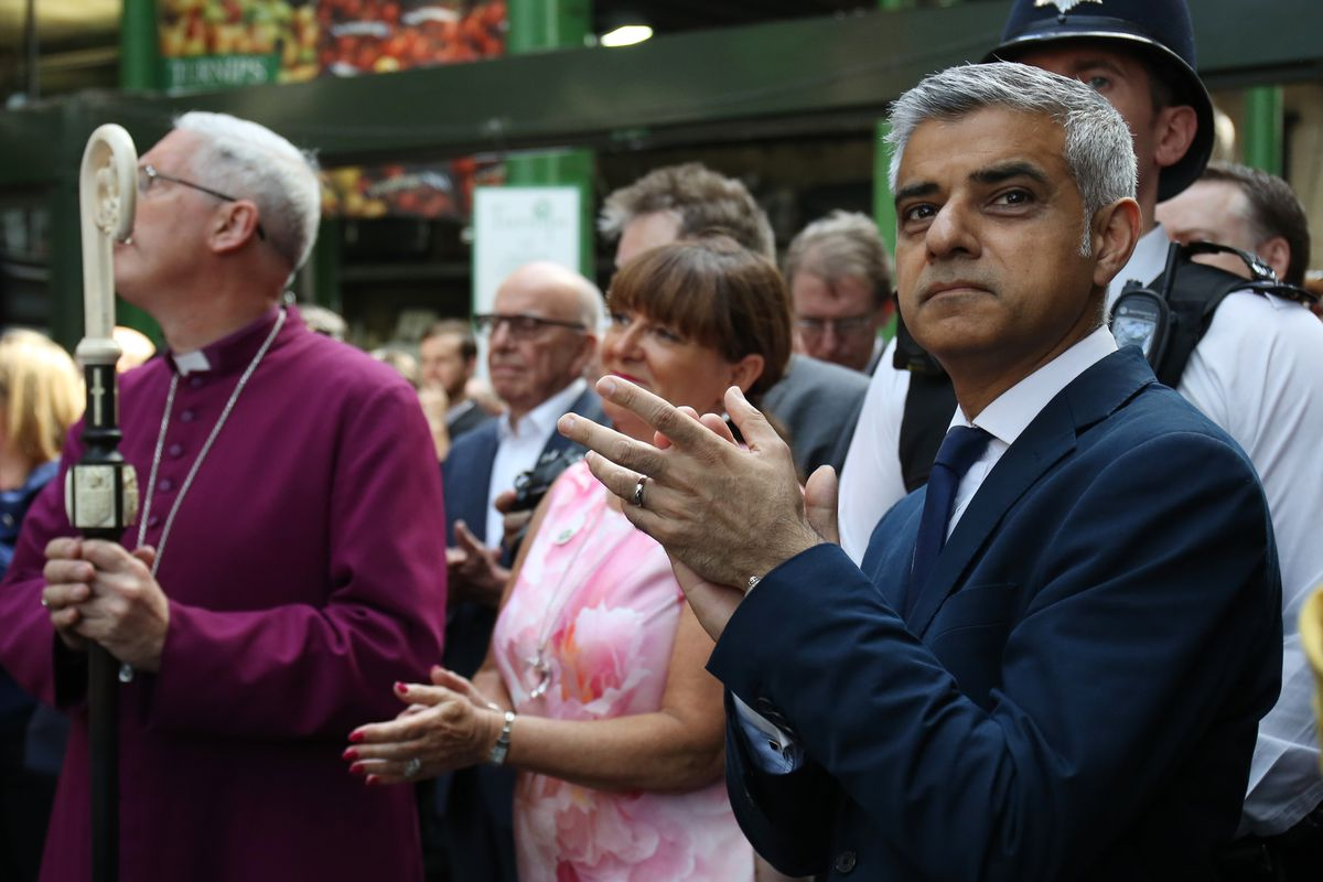 Borough Market Re-Opens To The General Public After The Terrorist Attack