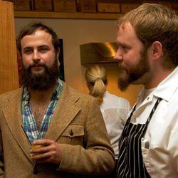 Shane and chef Nick