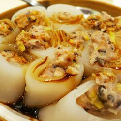 Mushroom rice rolls