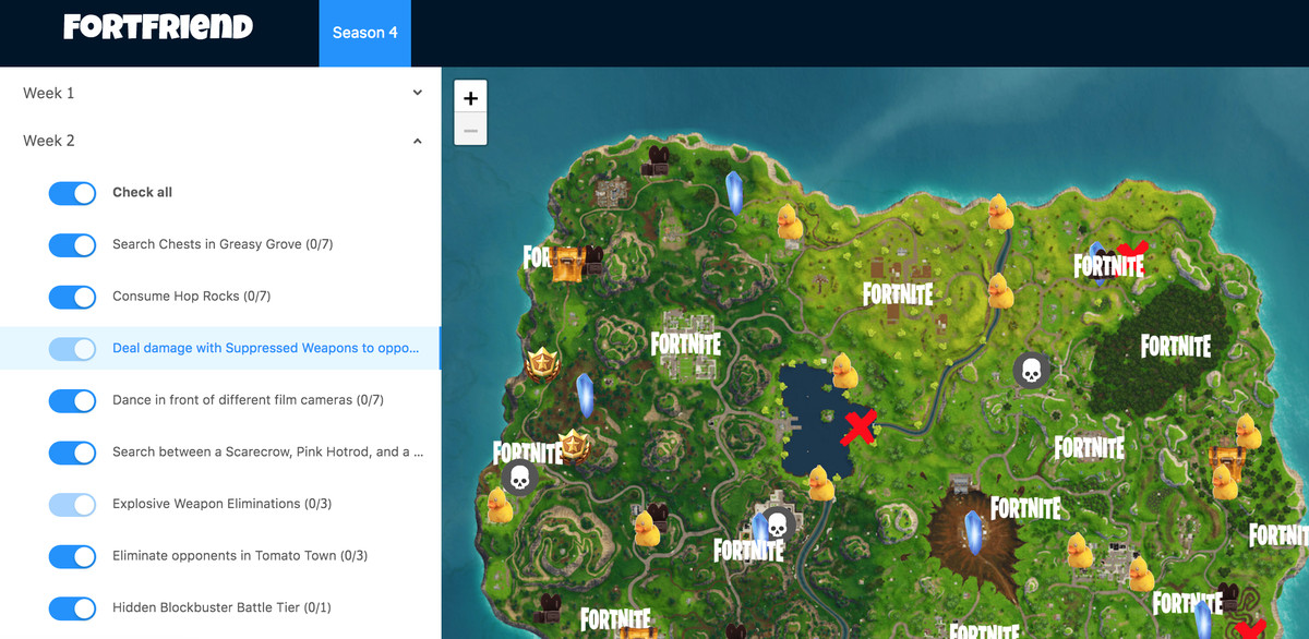 How to keep track of your weekly Fortnite Battle Pass challenges