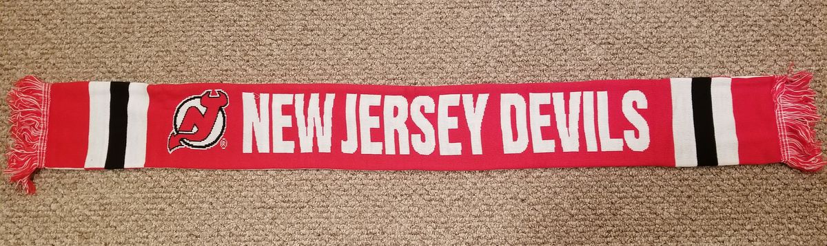 The Red Half of the New Jersey Devils STH Scarf