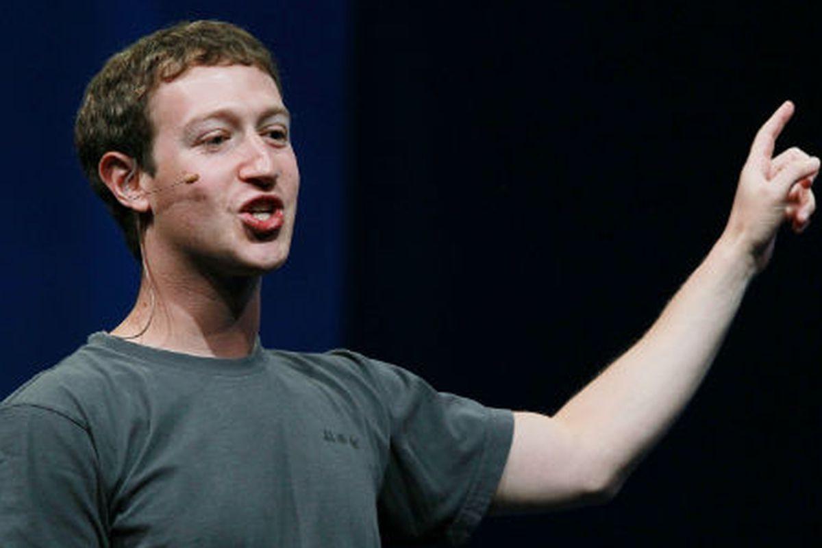 Mark Zuckerberg: The next Elle UK cover girl? Via Getty