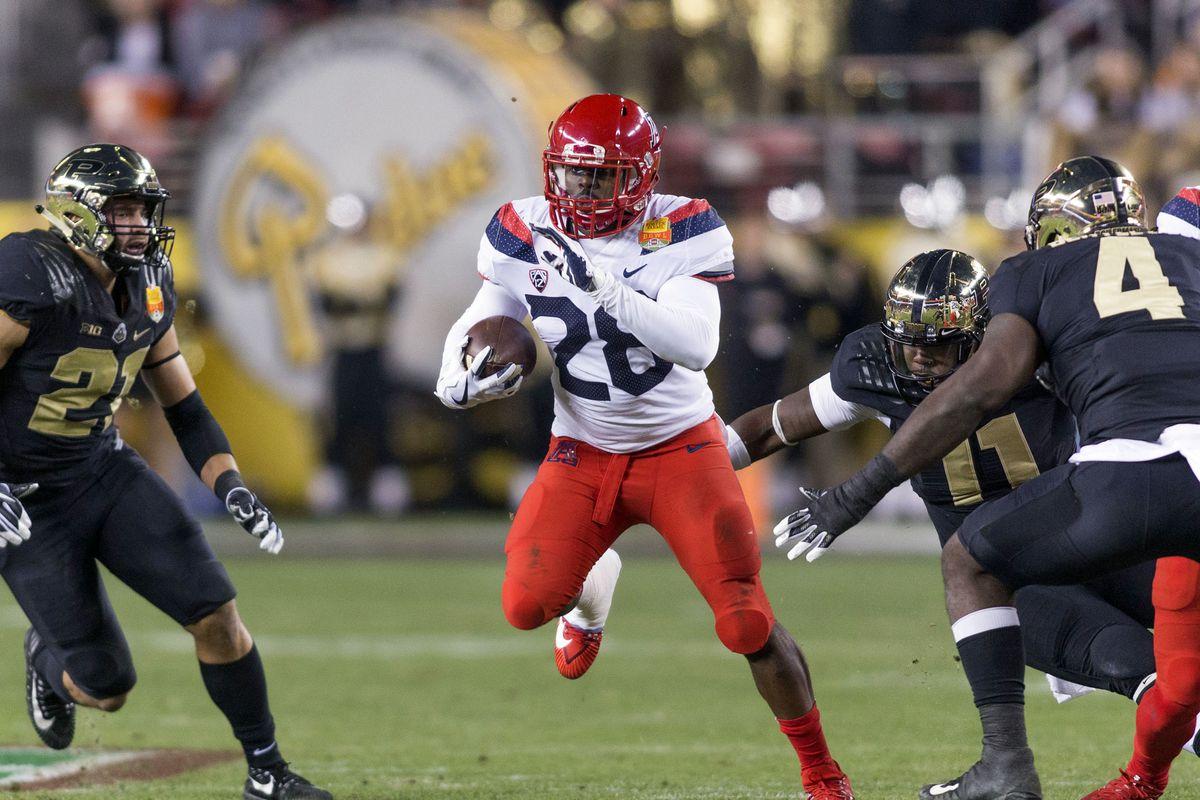 NCAA Football: Foster Farms Bowl-Arizona vs Purdue