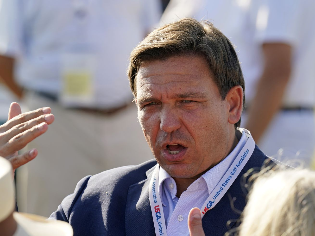 Florida Gov. Ron DeSantis signed into law a ban on transgender athletes participating in women's high school and college sports in the state.