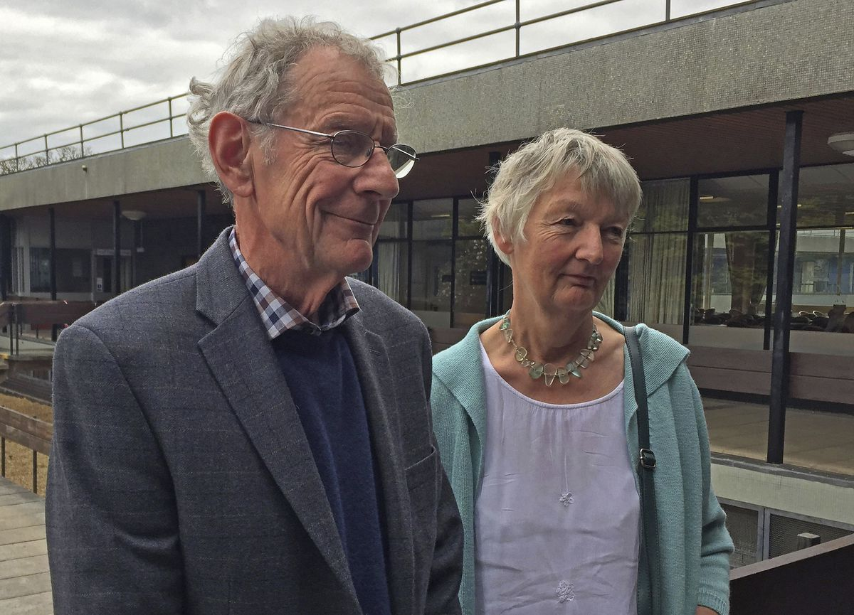 Graham and Meg Hemmings previously owned a piano where a stash of gold coins was found. British officials say they have been unable to trace the rightful heirs to the coins. The Hemmings donated the piano to a school, and now that school, and the tuner wh