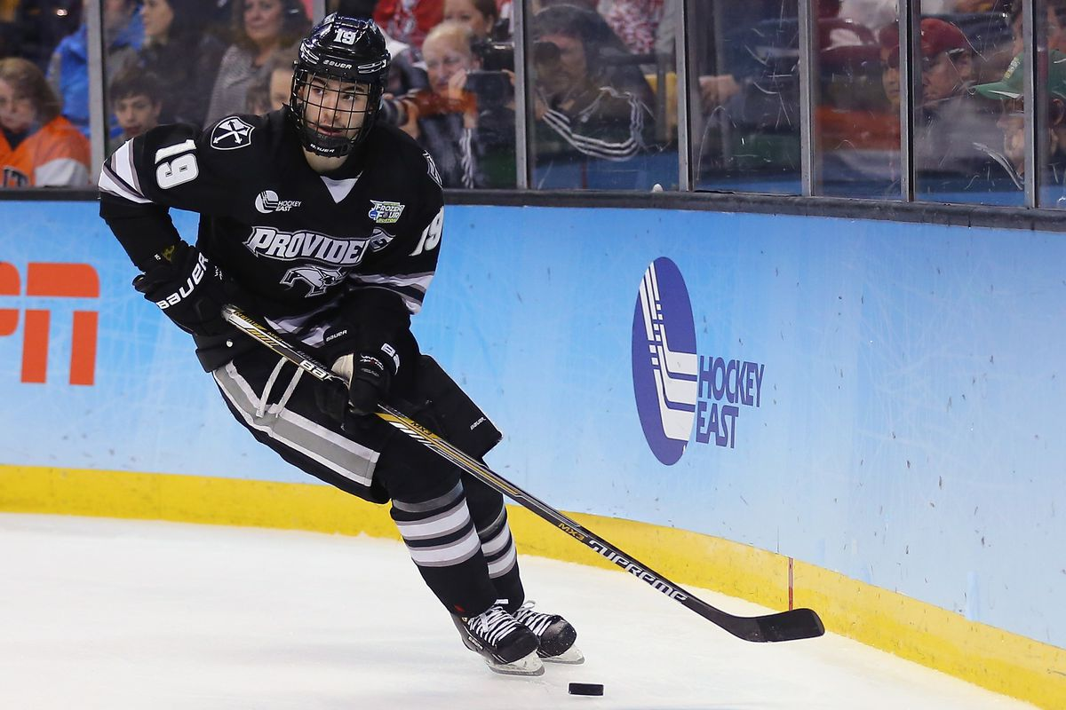 Jake Walman is the SB Nation Hockey East Player of the First Half.