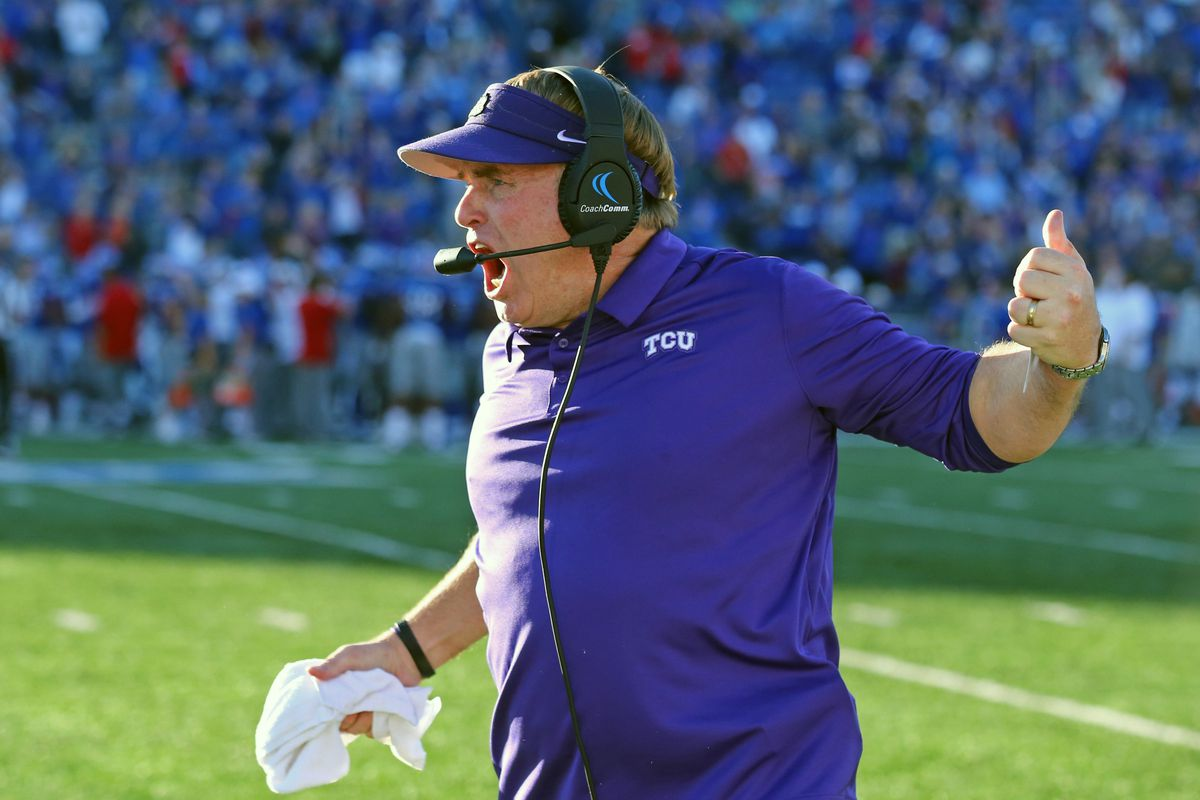 new arrivals 60dee 859c7 TCU s 26-27 loss at Kansas was abysmal, but was it the worst defeat ever  under Gary Patterson