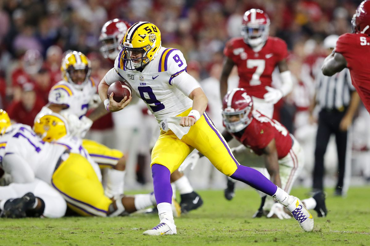 Lsu Vs Alabama Score 2019 Tigers Trump Crimson Tide 46 41 Team Speed Kills