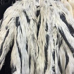 Fur coat, $179