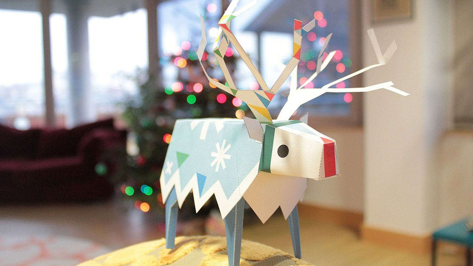 free christmas paper crafts ss42com - HD 1600×900