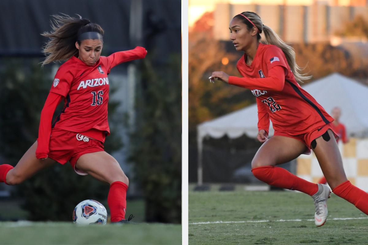 Roommates Sabrina Enciso and Jada Talley are 'perfect balance' for Arizona soccer