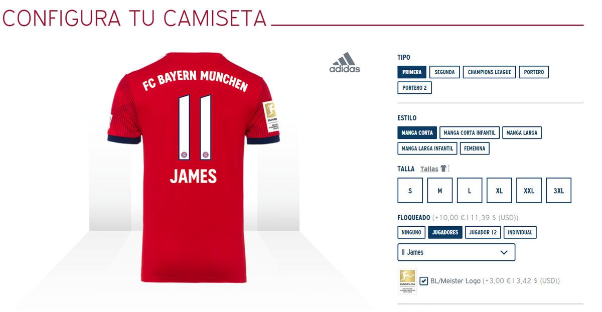 the latest cdc3f 802a6 Bayern Munich adds Spanish language shop - Bavarian Football ...