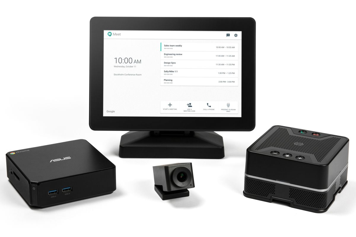 Google announced $1999 of hardware for video-conferencing
