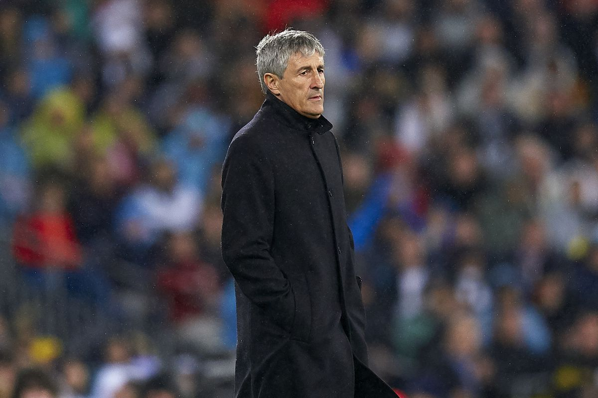 Quique Setien S First Giant Week As Barcelona Manager Was Just A Little Too Big For Him Barca Blaugranes