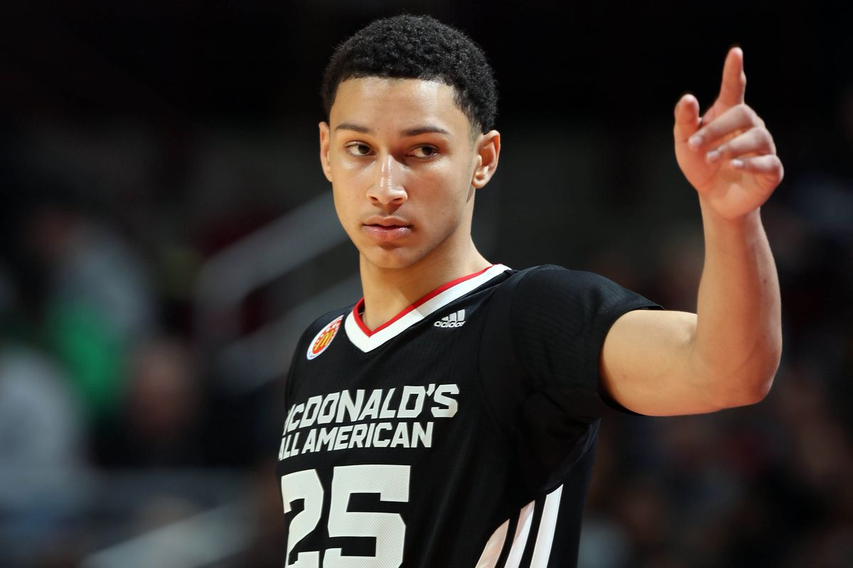 Ben Simmons is the apple of the eye of many Celtics fans.