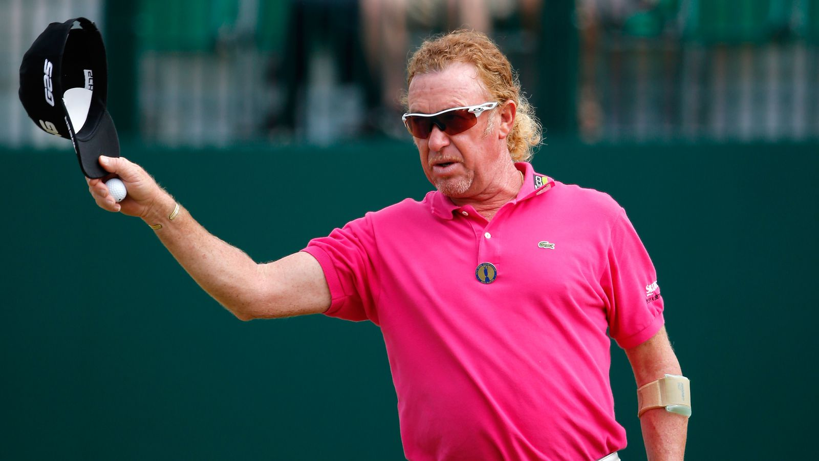 espn adds to miguel angel jimenez legend at the british