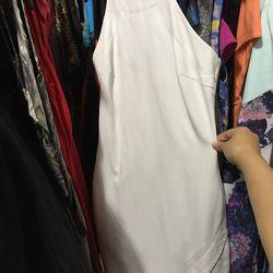 Elizabeth and James White Bardot dress, $38 (was $365)