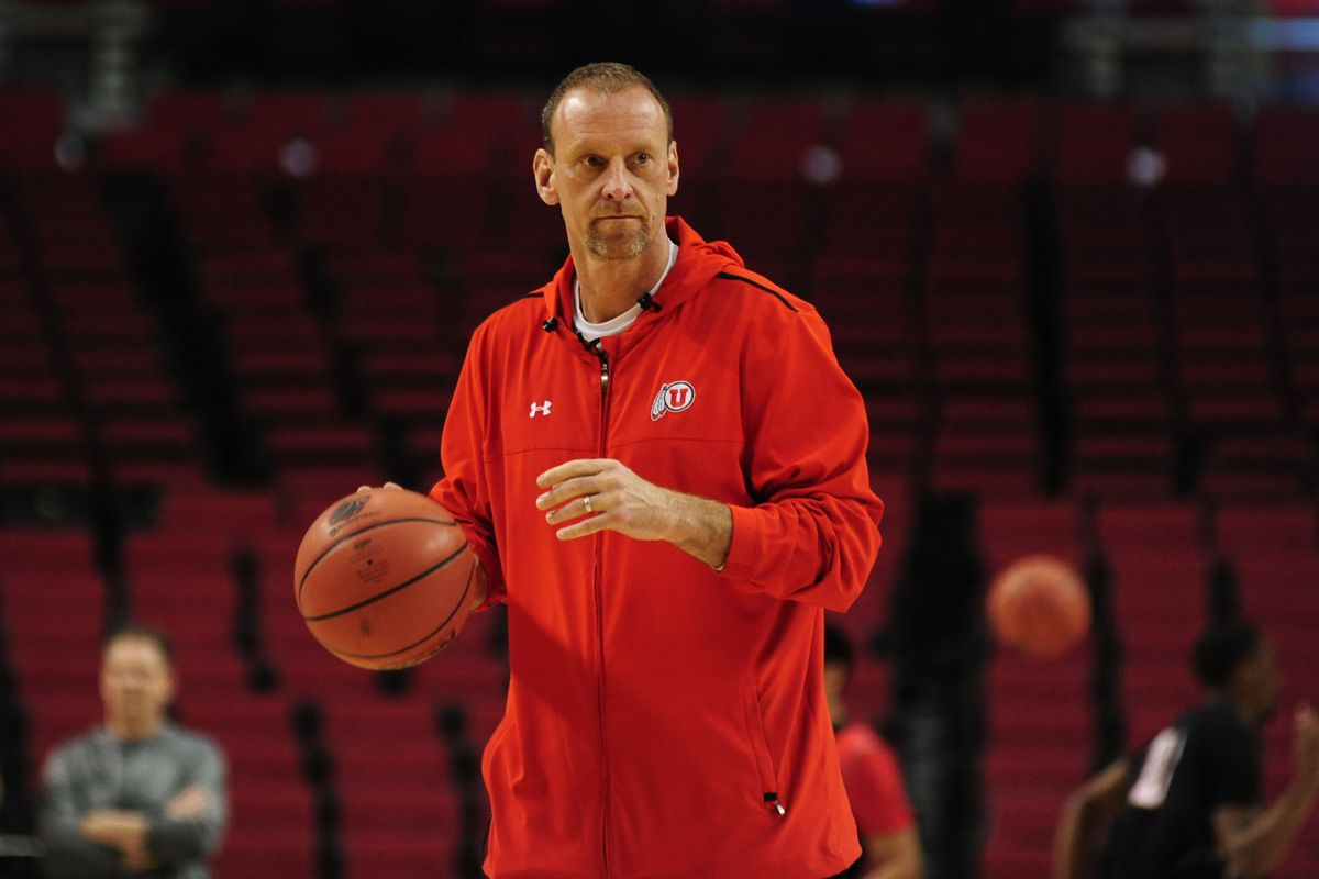 Utah head coach Larry Krystkowiak has led his Runnin' Utes back to the NCAA Tournament in his fourth year. Now, can they win?