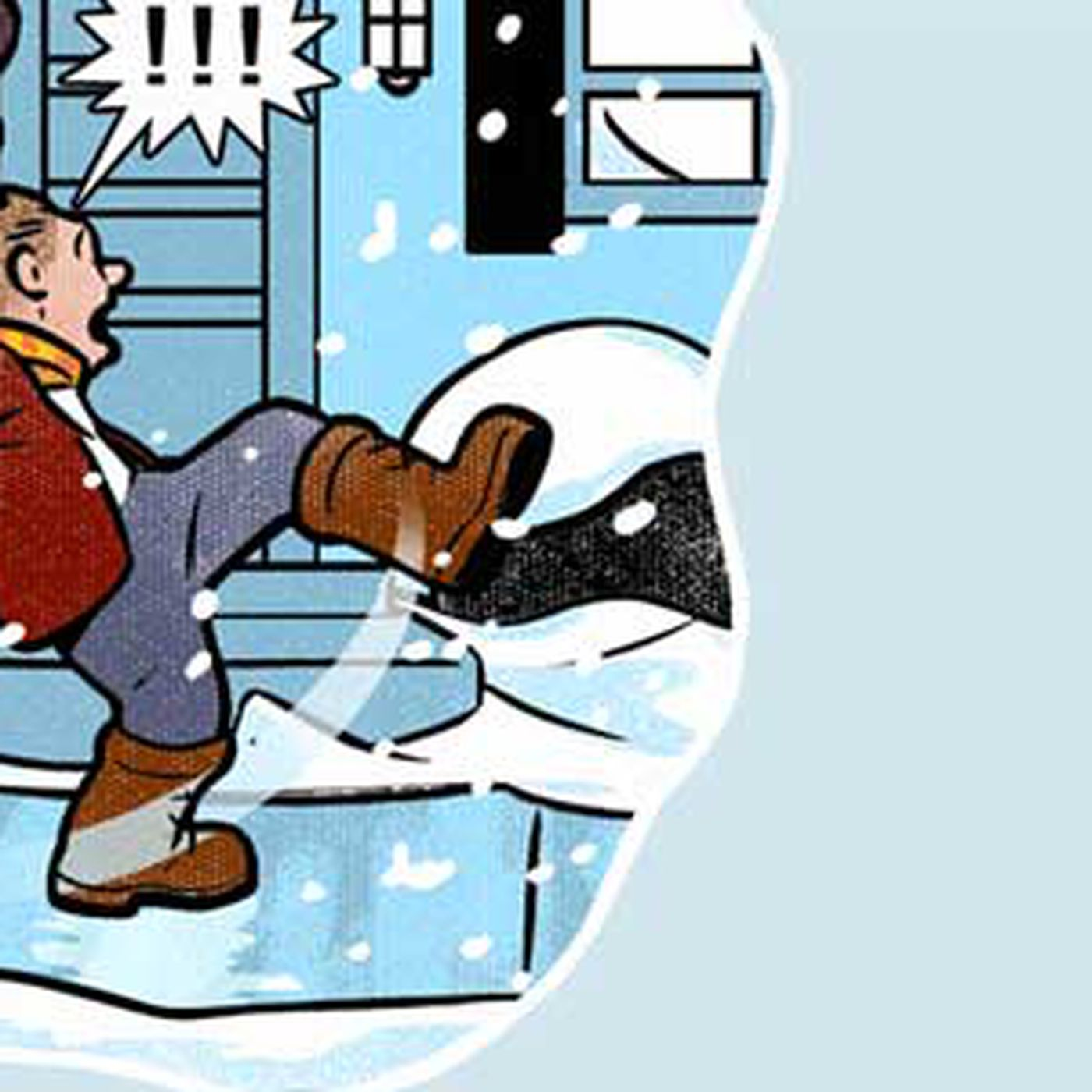 Image of: What To Put On Icy Steps Stairs And Walkways In The Winter This Old House