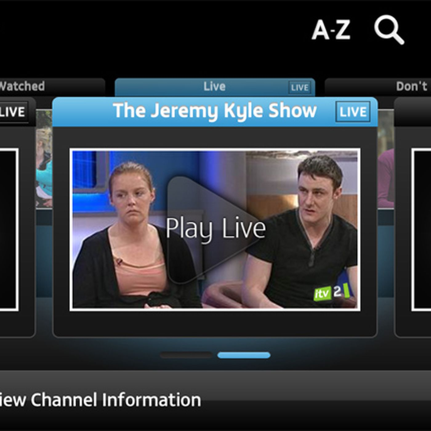 ITV adds live streaming and AirPlay Mirroring to iOS app